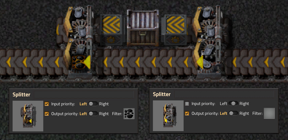 Factorio: How to create the perfect buffer without a signal circuit?